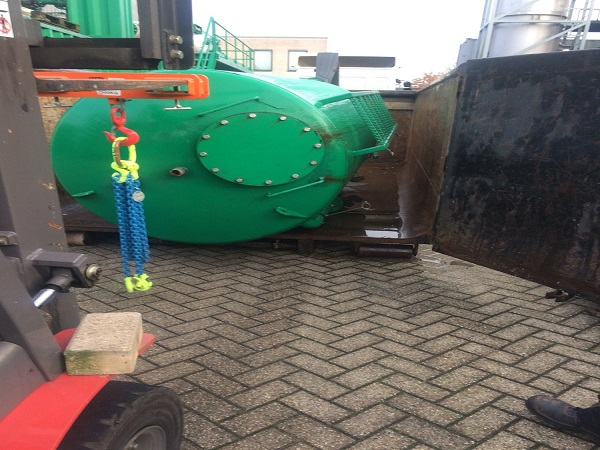 Ophaal service Bauer recycling