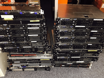 Bauer recycling inname servers